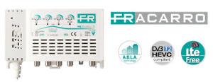 FRACARRO 223603 MBJ EVO MBJ2r345U LTE CENTRALINO TV 4 In III+DAB IV V UHF+1 Out