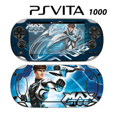 Vinyl Decal Skin Sticker for Sony PS Vita PSV 1000 Max Steel