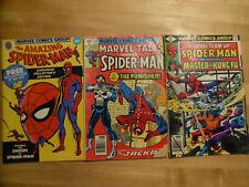 Peter Parker Spectacular Spider-man + other Spider-man comics Lot of 13 Marvel