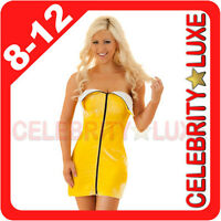 New Ladies Banana Fruit Fancy Dress Costume Party Outfit Fairytale Cartoon