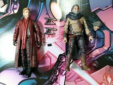 Marvel Legends star lord and ego guardians of the galaxy
