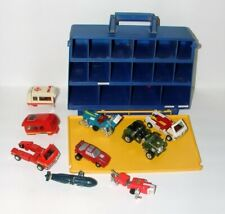 % 1980'S Go Bots Carry Case With Vehicle Collection