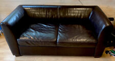 Good condition 2 1/2 seater faux leather Cargo Sofa Bed...