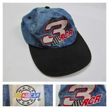 f74eea8075b Vintage Dale Earnhardt  3 RCR Richard Childress Racing Denim Hat AJD 80s  90s Cap