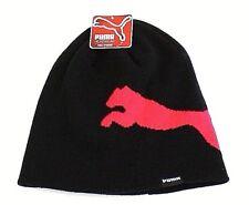 7c917816305 Puma Black   Pink Jumpcat Knit Beanie Women s One ...