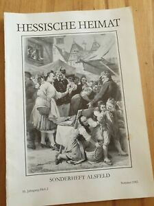 Hessische Heimat Sonderheft Alsfeld Sommer 1985 Geschichte Bilder TOP!