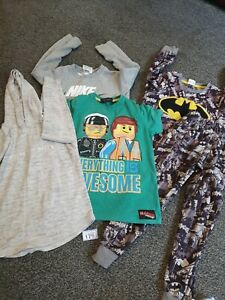 Boys Age 5-6 Years Play Clothes Bundle (B179)
