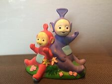 Teletubbies  Tinkie Winkie  and Po Toy Figure