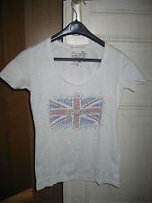 T-Shirt blanc Le Temps Des Cerises parfait etat -S