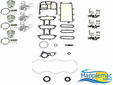 Mercury Mariner 75 90 115 HP 1.5L Optimax Powerhead Rebuild Kit Piston Gasket