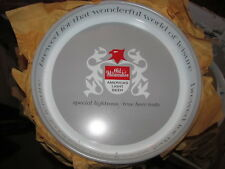 "Schlitz Beer/Bar/Alcohol tray ""Old Milwaukee America's Light"" Bull New Old Stock"