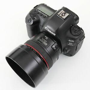 "Canon EOS EF 50mm f/1.2L USM prime lens ""L"" series"