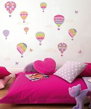 Children's Bedroom Fine Décor Air Balloon Wall Stickers Stikarounds