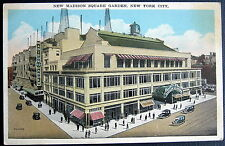 NEW YORK CITY NY ~ 1920's NEW MADISON SQUARE GARDEN  ~ UNITED AIRLINES OFFICE