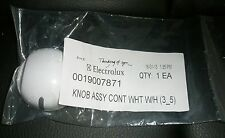 WESTINGHOUSE HOTPLATE COOKTOP WHITE CONTROL KNOB PART NUMBER 0019007871