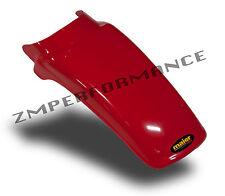 NEW HONDA XR 80 79 - 82 FIGHTING RED PLASTIC REAR MOTORCYCLE FENDER MUD GUARD