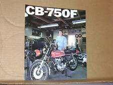 1976 Honda CB750 F Motorcycle Sales Brochure - Literature