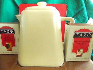 From Starbucks Tazo 25 fl. oz Tea Pot & Tea
