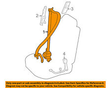 TOYOTA OEM Front Seat Belts-Belt & Retractor Left 7322060671C0