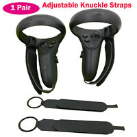 1 Pair Adjustable Knuckle Straps for OCULUS Quest/OCULUS Rift S Touch Controller