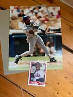 1990 Fleer Sammy Sosa Chicago White Sox #548 Baseball Card Rookie Plus MLB Photo