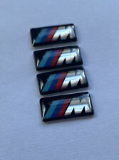 BMW M Sport  3D DOMED BADGE LOGO EMBLEM STICKER GRAPHIC DECAL X4