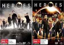 Heroes Series : Season 3 & 4 : NEW DVD