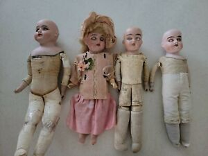 Lot Of Antique german dolls 4
