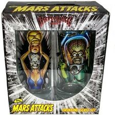 Mars Attacks Boxed Drink Glass Set