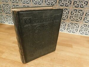 Large 19th.C.  Bible. Dated 1865