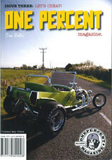One Percent magazine #3 shovelhead Triumph Thunderbird Ford Indian