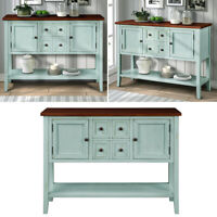 Buffet Sideboard Console Table Desk w/ Drawer Bottom Shelf For Entryway Kitchen