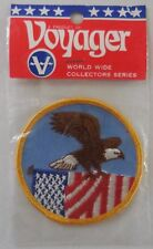 Voyager Collectors Series Patriotic Eagle Embroidered Patch New