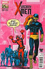 Uncanny X-Men #27 - Deadpool Variant - 2014 (Grade 9.2+)