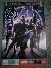AVENGERS #35 IN 8 MONTHS TIME RUNS OUT Hickman Cyber Monday