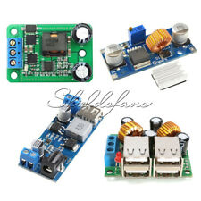 4-USB Port/ XL4015 DC-DC 12V/24V to 5V 5A Buck Converter Power Supply Step Down