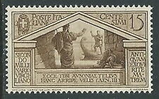 1930 REGNO VIRGILIO 15 CENT MNH **  - M16-5