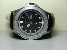 Vintage Citizen AUTOMATIC DAY DATE MENS Wrist Watch USED ANTIQUE H447 Nice Peice