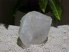 Slag Glass Cullet Rock Clear and White Large Great For Rock Gardens