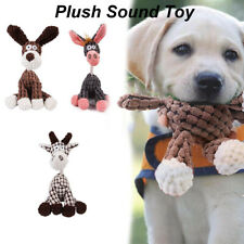 Squeaker Molar Plush Bite Toy Dog Chew Toys Puppy Interactive Pet Supplies