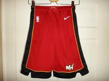 Youth Nike Miami Heat NBA Red Statement Edition Swingman Shorts S (8)