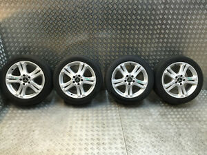 2002-2009 MERCEDES E CLASS W211 4 ALLOY WHEELS WITH TYRES 245/45/17 A2114013602