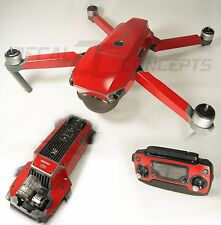 DJI Mavic Gloss Red Ultimate Graphic Wrap kit -Underside Decal Skin Sticker