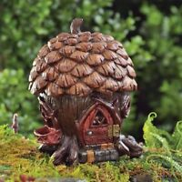 Fiddlehead Pine Cone Cottage Fairy House Fairy Garden Miniature Garden Ornament