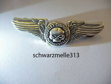 HARLEY DAVIDSON  SKULL WILLI G. WINGS  PIN