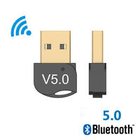 Hommie USB Bluetooth 5.0 Dongle Receiver for PC Laptop Computer Compatible with Windows 7//8//8.1//10 USB Bluetooth 5.0 Adapter for PC Linux to Connect Bluetooth Headphones//Speakers//Mouse//Keyboard