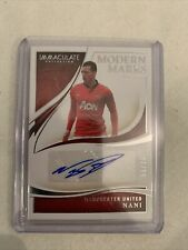 Immaculate Nani Modern Marks Autograph Manchester United 51/99