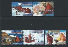 1997 Australian Antarctic Territory (AAT) A.N.A.R.E. Set MNH (SG 117a,119-121)