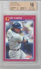 1991 Score Rookie & Traded Gary Carter (HOF) (#26T) BGS10 BGS
