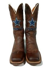 Lucchese Dallas Cowboys Special Edition Madras Goat Horseman Cowboy Cowgirl Boot